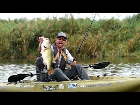 Kayak fishing giant texas largemouth youtube kayak for Youtube kayak fishing