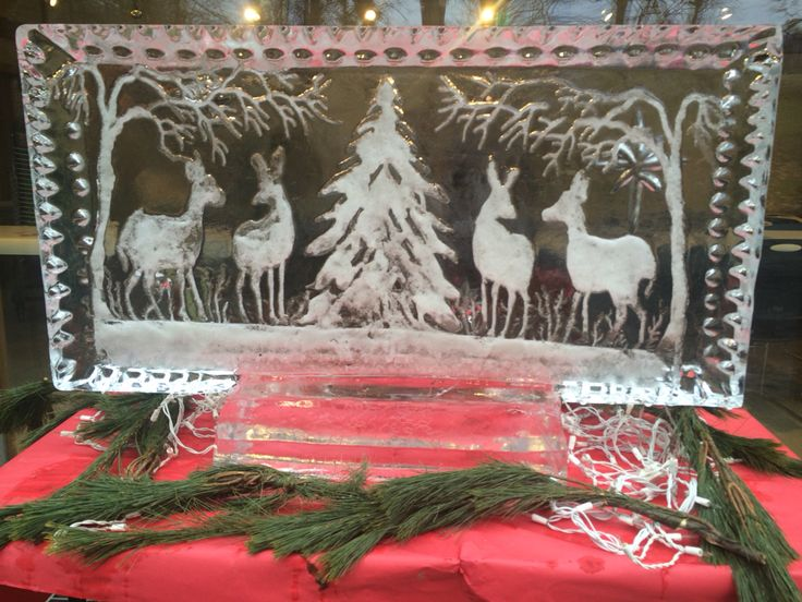 And another ice sculpture from yesterday's event!