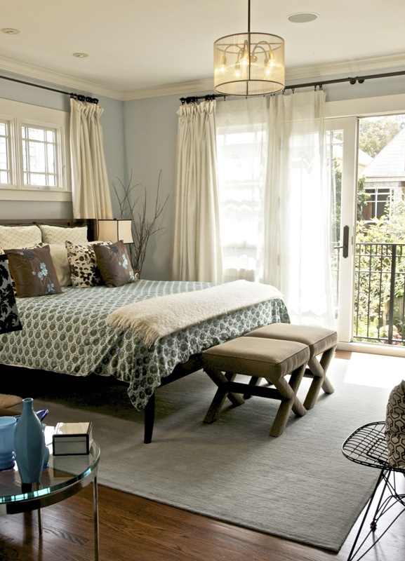 best 25 window behind bed ideas on pinterest curtain ideas neutral bedroom curtains and. Black Bedroom Furniture Sets. Home Design Ideas