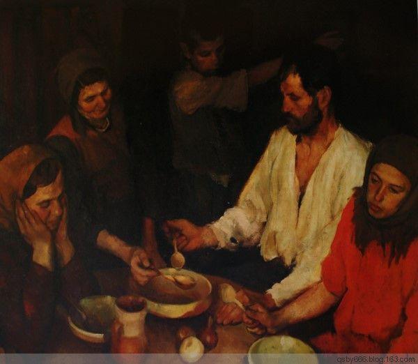 罗马尼亚画家柯尔尼留·巴巴(C.Corneliu Baba) - 土山布衣 - 土山布衣的博客