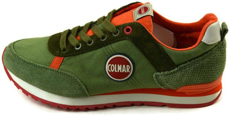 Scarpe Colmar Originals TRAVIS COLORS114 OLIVE-ORANGE