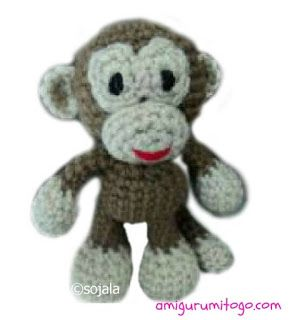 Monkey Gratis haakt Patroon ~ Amigurumi To Go