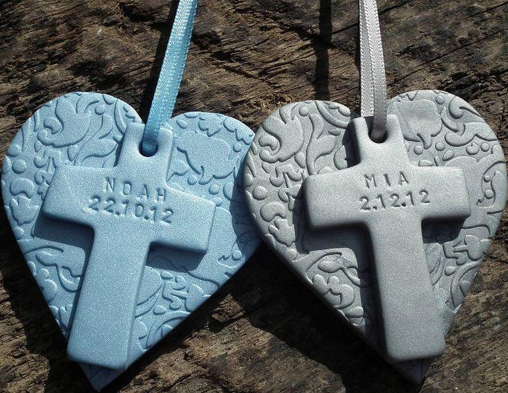 personalised christening keepsake by fingerprints gifts | notonthehighstreet.com