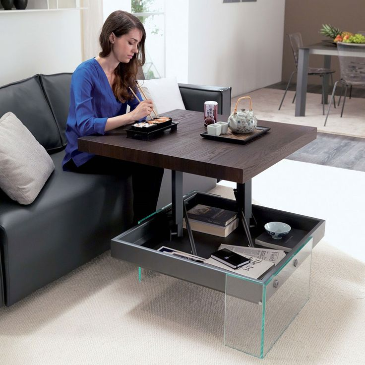 Living Spaces Office Furniture: Space Saving Furniture Ideas For Small Rooms