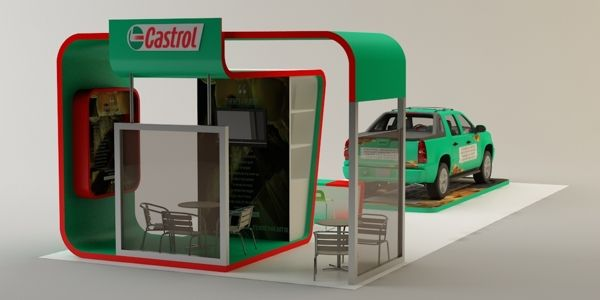Castrol Oil - Exhibition on Behance