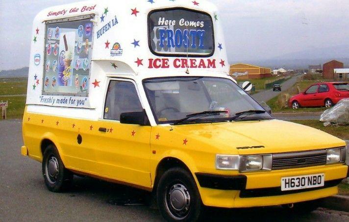 Austin Maestro Ice Cream Van