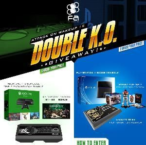 PS4 or XBox One #Giveaway