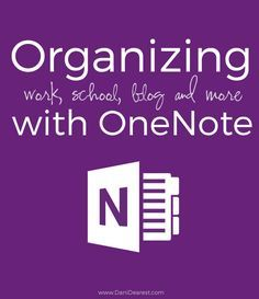 Might try OneNote to type up Notes this year. I'll see how it goes.