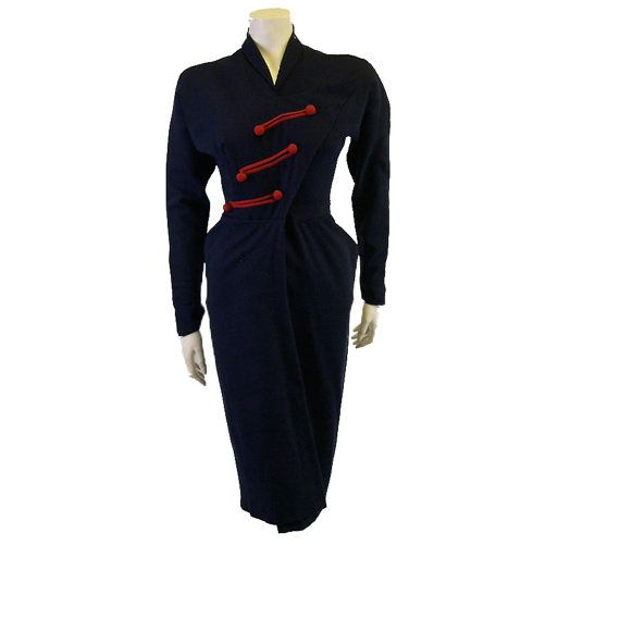 1940s Vintage Dorothy O'Hara Formal Dress on Etsy, £345.00