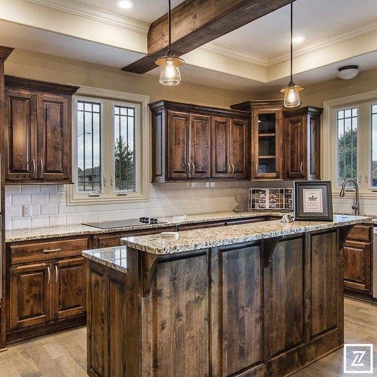 46 lovely kitchen backsplash with dark cabinets decor ideas 42 rustic kitchen design rustic on kitchen ideas with dark cabinets id=86371
