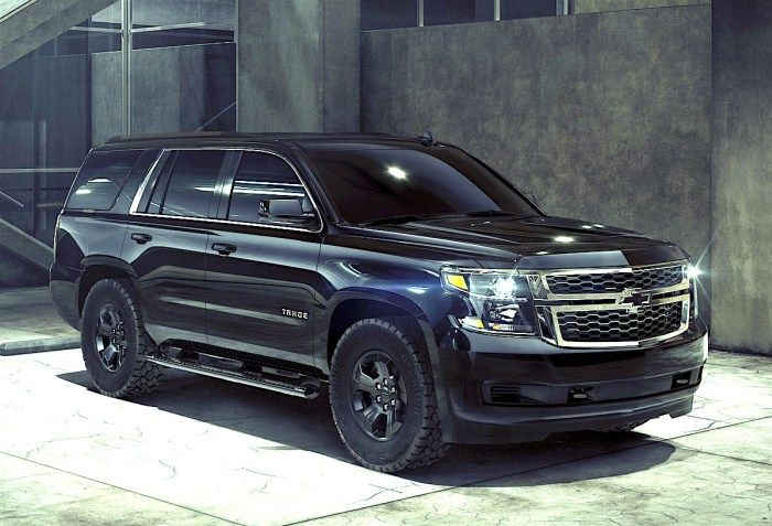 2018 Chevy Tahoe Custom Midnight Is Perfect If You Really Love Black Chevy Tahoe Chevy Black Chevy Tahoe