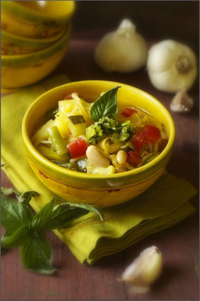 French Soupe Au Pistou