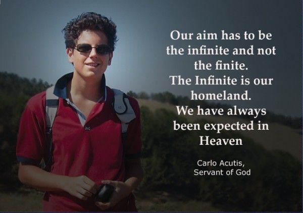 Carlo Acutis Quote Christian Love Quotes Saint Quotes Catholic Blog Topics