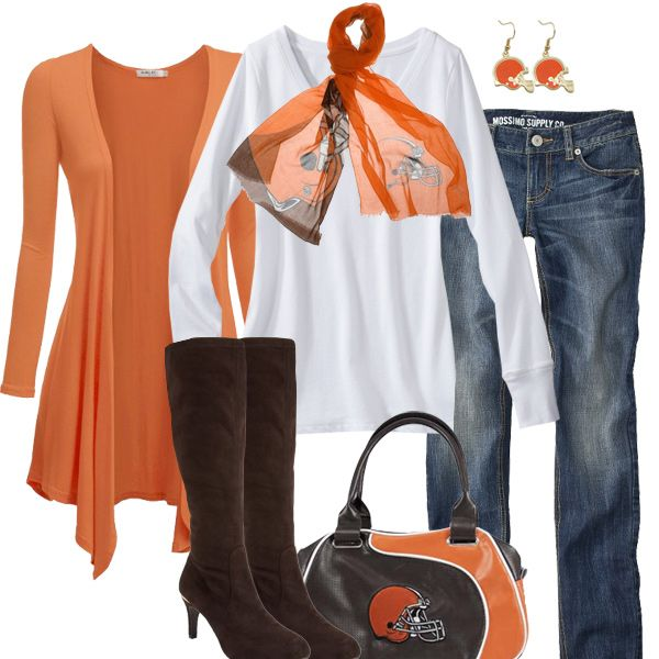 I'm a Cleveland girl through and through. Cleveland Browns Fall Fashion