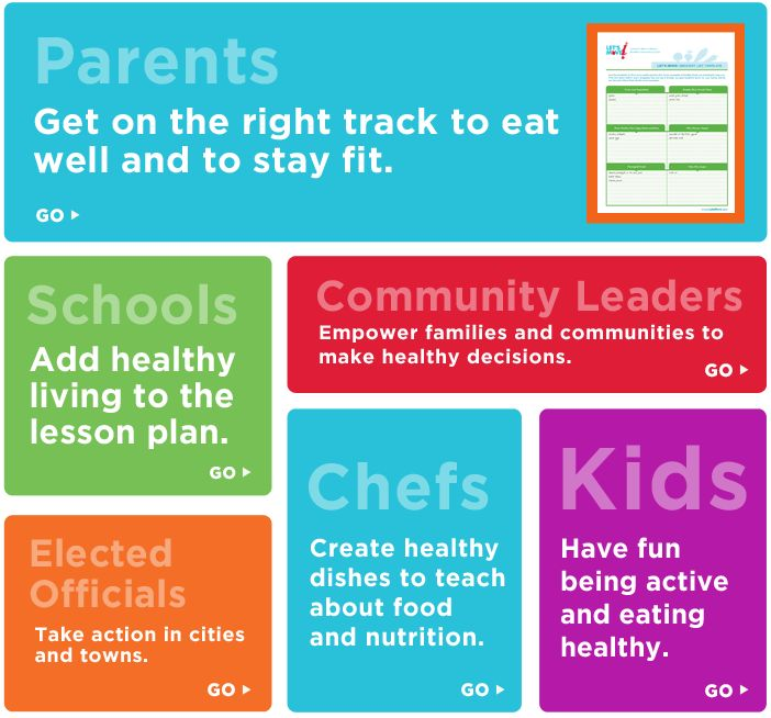 Let's Move! 5 Simple Steps to a Healthier Lifestyle from #letsmove