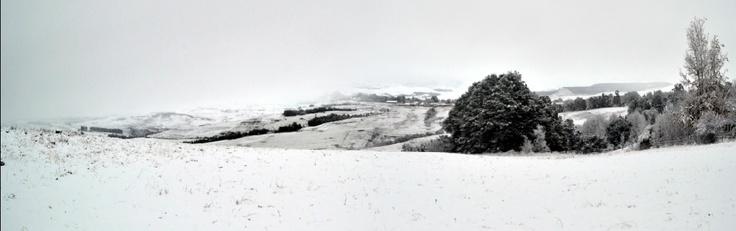 Heavy snow in Underberg