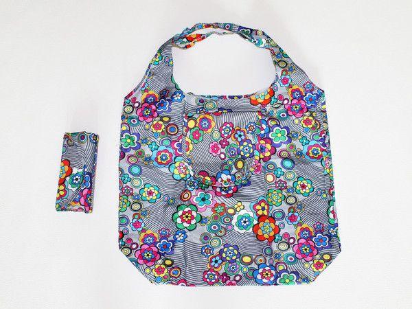 foldable reusable bag... folds into a mini wallet pouch!