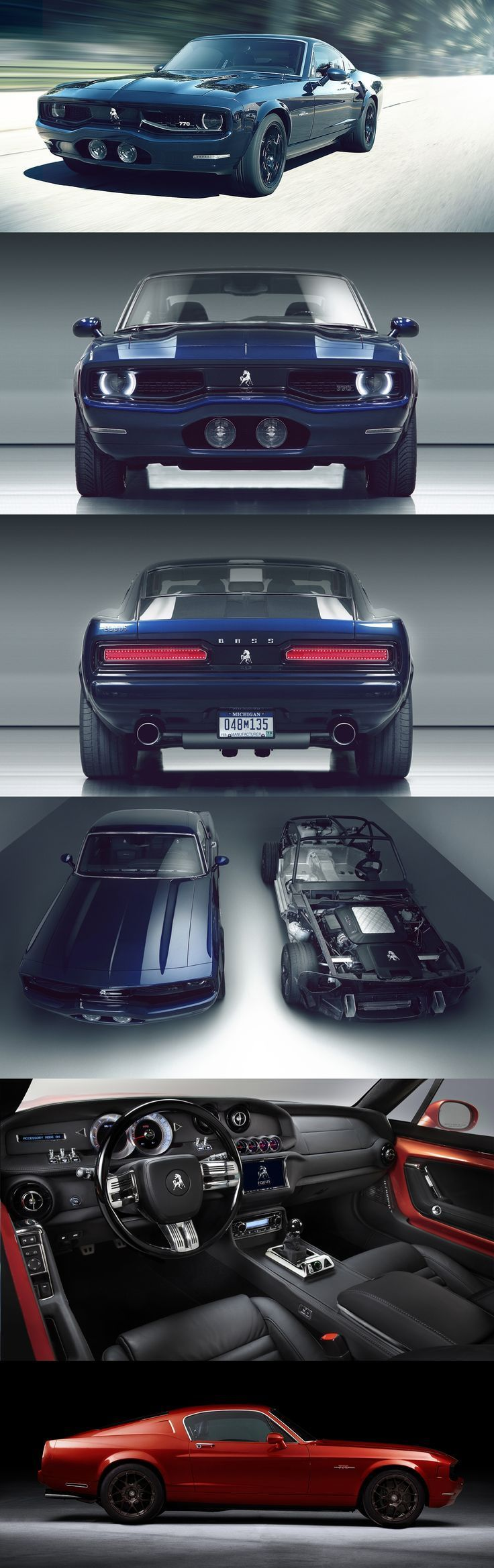 Equus Bass 770: The Ridiculous $250,000 Muscle Car For The 21st Century Badboy! Are you man enough? Hit the pic to find out... #americanmuscle