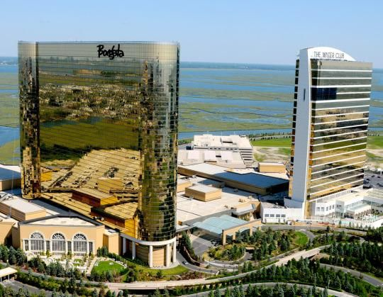 When I visit the Borgata in Atlantic City I don't leave it for three days. There's no need.