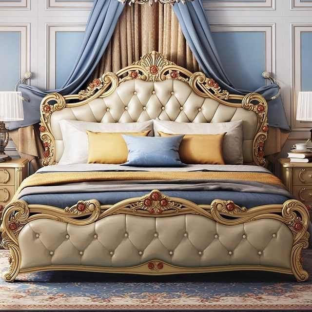 Source Romantic Princess Bed Furniture Wood Craved Luxury Bedroom Furniture Classi Classic Bedroom Furniture Luxury Bedroom Furniture Italian Bedroom Furniture