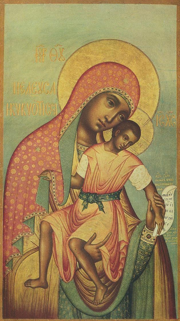 Mother of God Kykkotissa, Simon Ushakov