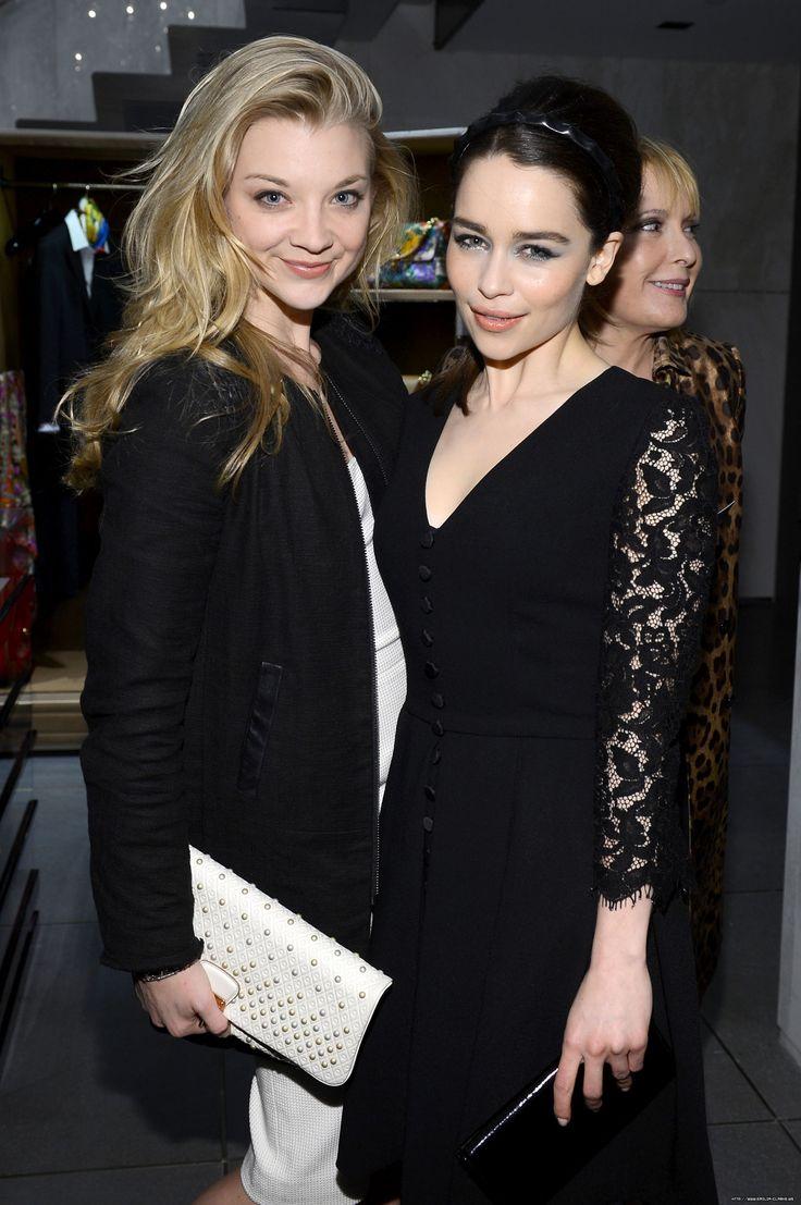 Natalie Dormer and Emilia Clarke