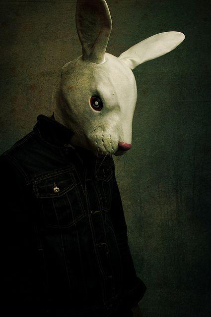 """Animal Mask/Ant-Fashion"" | Photographer: Kayleigh McCallum, Scotland, 2010 Rabbit mask"