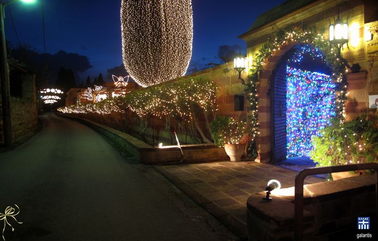 Chios island . Xmas at the Argendikon luxury mansion in Kambos area
