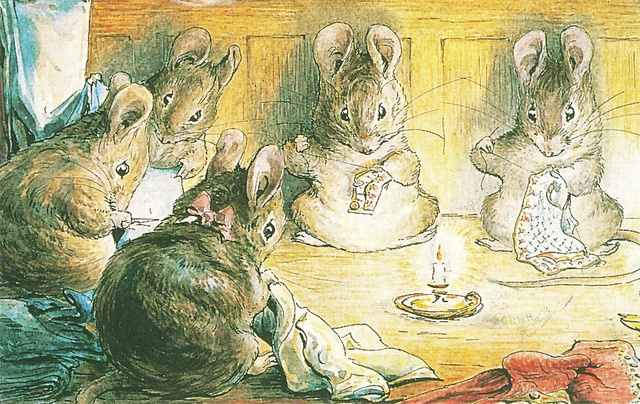 'The Tailor of Gloucester' by Beatrix Potter