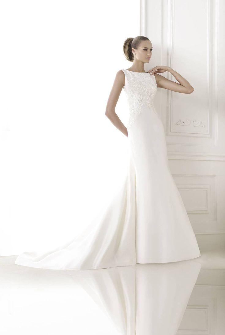 Bonnie esküvői ruha by Pronovias 2015 http://lamariee.hu/eskuvoi-ruha/pronovias/bonnie