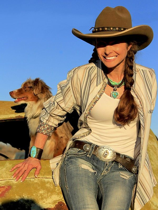 ❤ Cowgirls Fashions Western Style Country... #Cowgirls