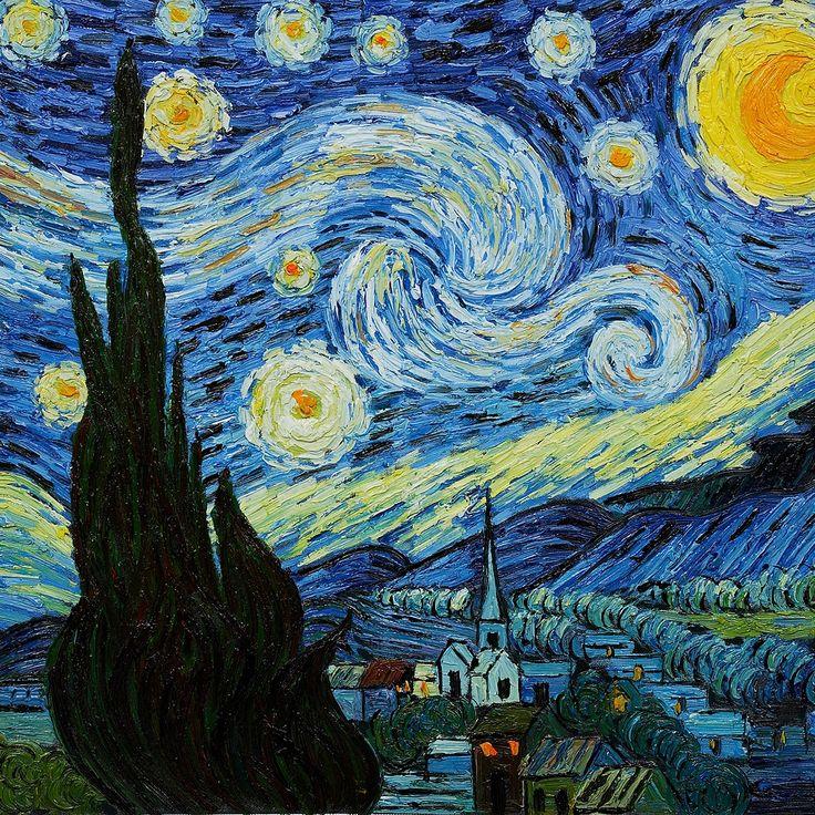 De sterrennacht.