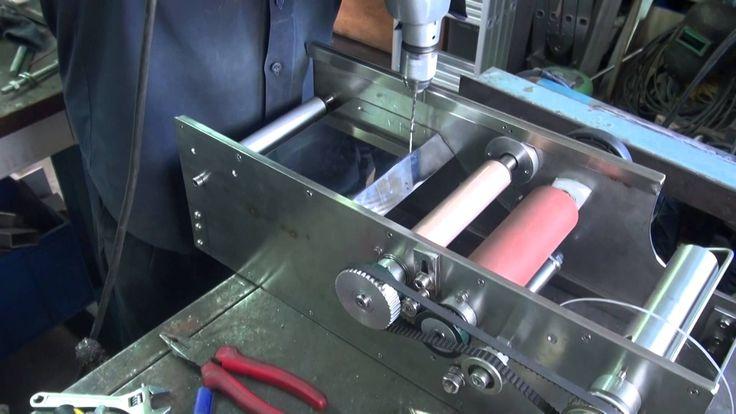 Metalmecanica  Como Fabricar Una Etiquetadora  Manual HD