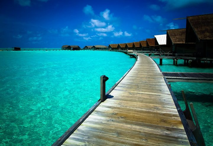 Cocoa Island, Maldives Silky white sand and 33 villas set over water are somewhere where you can picture yourself? Than this stunning island is the right place for you.