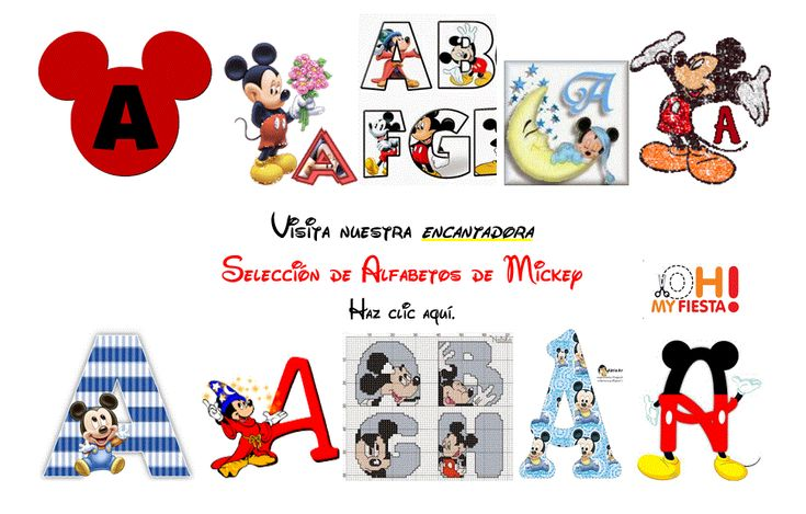 Imágenes para usar en fiesta de la Casa de Mickey.