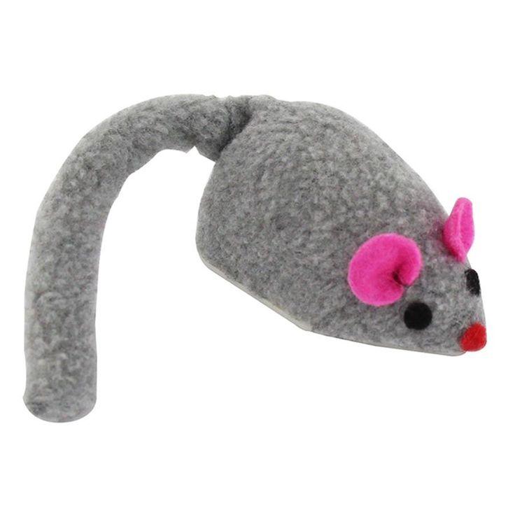 Ratinho de fricção para divertir o seu gato.  Os brinquedos fazem com que seu gato não fique tão entediado e estimula sua atividade física.