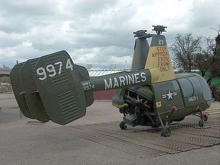 El Kaman HH-43 Huskie era un helicóptero con rotores engranados utilizados por la Fuerza Aérea de los Estados Unidos, la Marina de los Estados Unidos y el Cuerpo de Marines de Estados Unidos desde la década de 1950 hasta la década de 1970. Se utiliza principalmente para la extinción de incendios y salvamento de aeronaves en las inmediaciones de las bases aéreas, pero más tarde fue utilizado como avión de búsqueda y rescate de un corto rango de tierra durante la guerra de Vietnam.