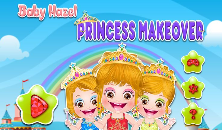 It's princess makeover time for Baby Hazel! Try out beautiful dresses, jewelry, makeup and hairstyles to give an awesome princess makeover to Hazel.  http://www.topbabygames.com/baby-hazel-princess-makeover.html