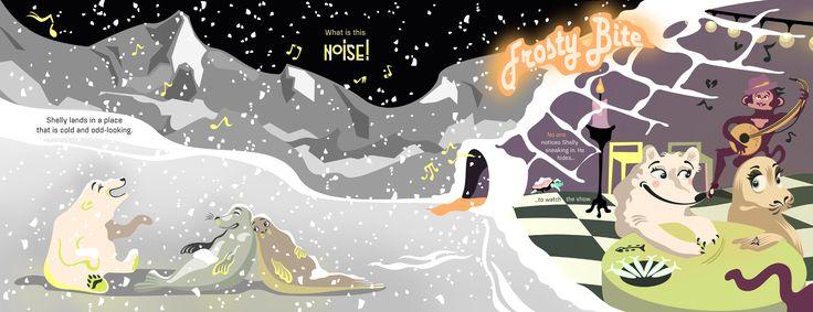 "Pirita Tolvanen ""A Long Way Home: Frosty Bite"" on Behance"