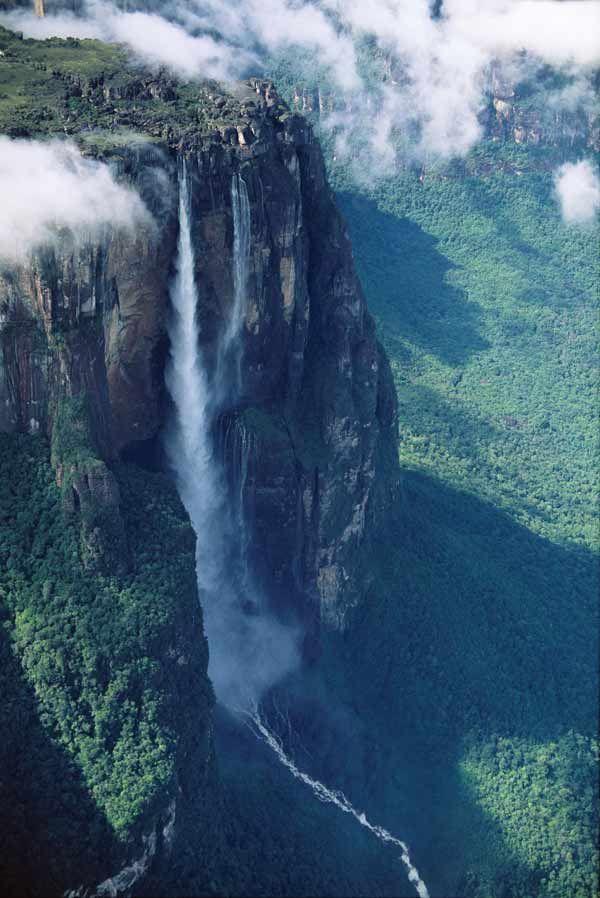 Secrets of Angel Falls on the Venezuela border.