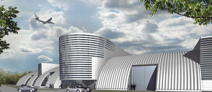 Flight Training Center, Erweiterung Simulatorengebäude Flughafen Frankfurt a. M.