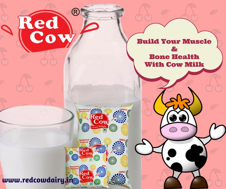 Build your muscle and bone health with Cow Milk