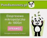 Pożyczka Pandamoney jest udzielana w wysokości do 1800 zł na okres od 7 do 30 dni. Pożyczki Pandamoney uzyskasz całkowicie online, a jej atutamisą szybka decyzja, brak zbędnych dokumentów, niskie opłaty oraz wypłata środków w 15 minut. Jest to jedna z najtańszych ofert pozabankowych
