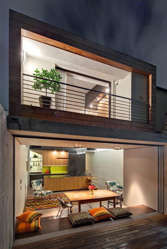 Nana Walls are perfect for small spaces.  #nanawall #interiordesign