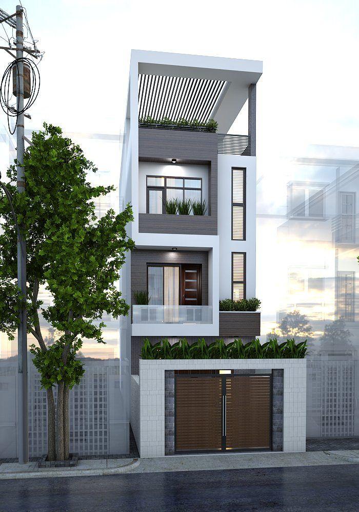 https://flic.kr/p/x8sHYU | Street 's house (Mr Hien) | Quang Ninh Date Design…