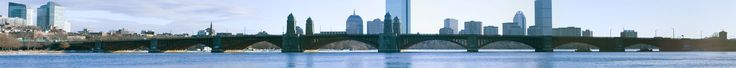 * Longfellow Bridge *  Cambridge, Massachusetts. USA.