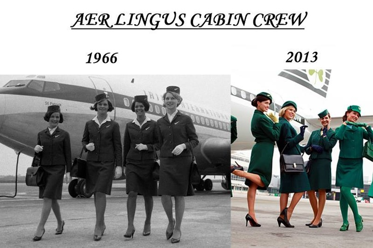 the beautiful aer lingus cabin crew the uniform is the