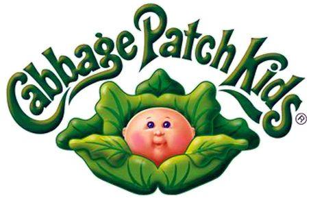"cabbage patch kids logo | Los Bebés Repollitos"" (Hogar, 1984)"