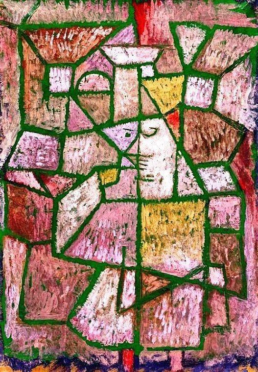Paul Klee Herr der Stadt, ca. 1937