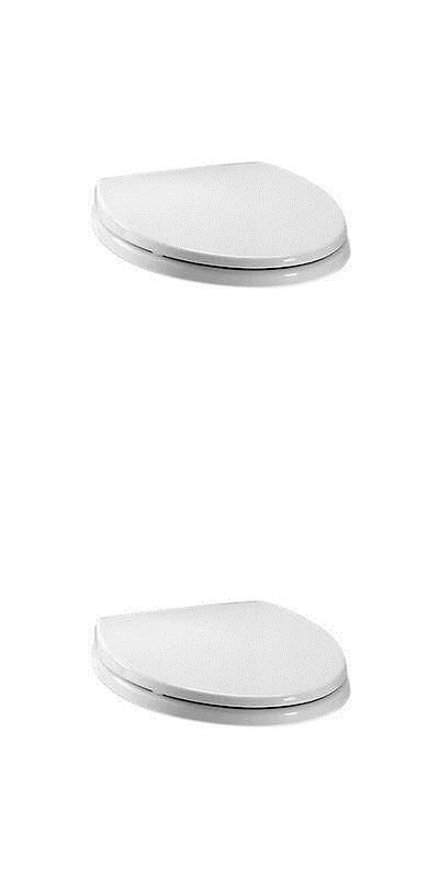 Toilet Seats 37637: Toto Colonial White Elongated Soft-Close Toilet Seat -> BUY IT NOW ONLY: $59.99 on eBay!